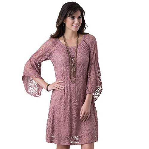 Denver Mauve Lace Dress, XX-Large
