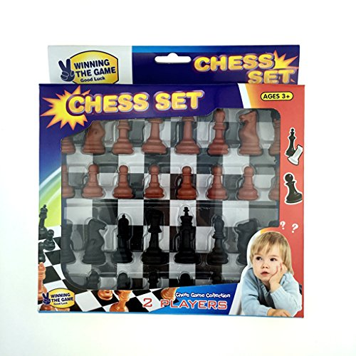 【ノーブランド品】チェスゲーム 国際チェス wi / 180mm チェス盤 テーブルゲーム おもちゃ 贈り物の商品画像