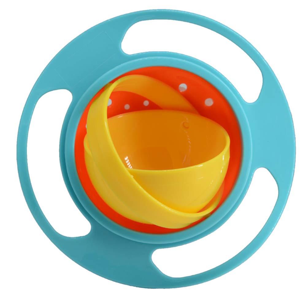 超ポイントアップ祭 (Blue) - Funny With BUYITNOW Baby Rotate Spill-proof Bowl Funny Kids Green 360 Dgree Rotation Gyroscope Trainning Tableware With Lid Green and Orange Green and Orange B01HUNLWR4, アクセサリーハウスRINO:c82e9f4e --- arianechie.dominiotemporario.com