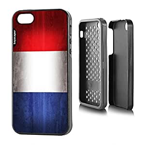 iphone 4s Rugged Case France National Flag