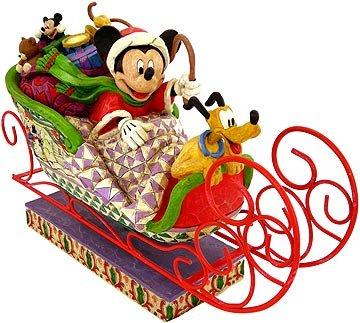 (Jim Shore - Disney Traditions - Fabulous Sleigh Ride Figurine by Enesco - 4005626)