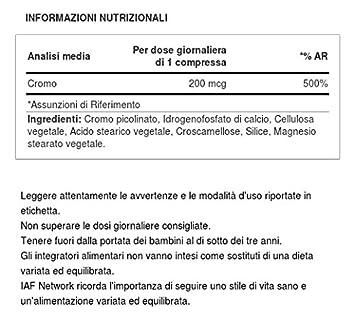 Scitec Nutrition Chromium Picolinate minerales 100 tabletas: Amazon.es: Salud y cuidado personal