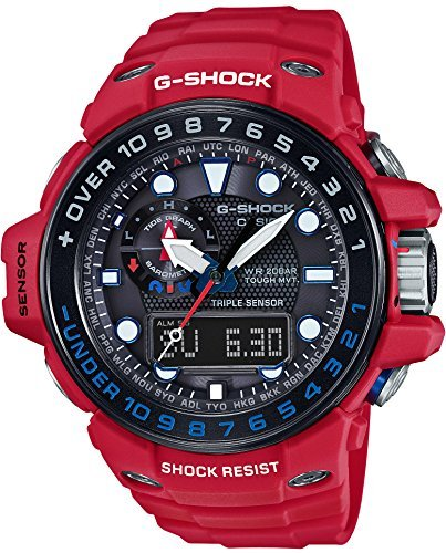[Casio] CASIO watch G-SHOCK GULFMASTER world six stations radio waves corresponding solar watch GWN-1000RD-4AJF Men's