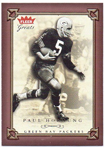 (Paul Hornung 2004 Fleer Greats of the Game #19 - Green Bay Packers)