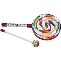 """Remo ET-7106-00 Kids Percussion Lollipop Drum, 6"""""""
