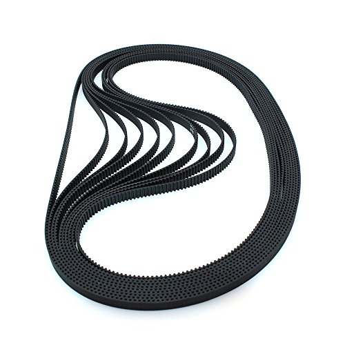 BIQU GT2 Timing Belt 610mm Width-6mm Teeth 305 Closed-Loop Rubber Belt for 3D Printer (Pack of 10pcs)