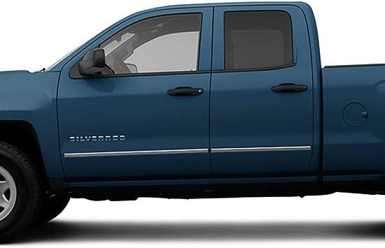 2003-2006 Silverado//Sierra Extended Cab Body Side Molding Trim Overlay Steel