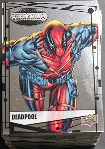 2015 Marvel Vibranium Trading Cards 90-Card Base Set - Card Marvel Comic Book