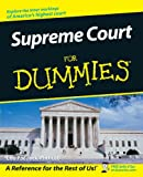 Supreme Court for Dummies®, Dummies Press Staff and Lisa Paddock, 0764508865