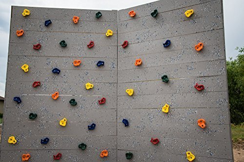 25 Kids Large Rock Climbing Holds With Mounting Hardware