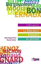 La littérature française au présent