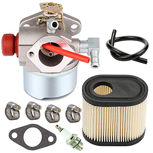 640350 Carburetor with 36905 Air Filter Spark Plug for Tecumseh LV195EA LEV120 LEV100 LEV105 640303 640271 Engine Toro Recycler Lawn mowers
