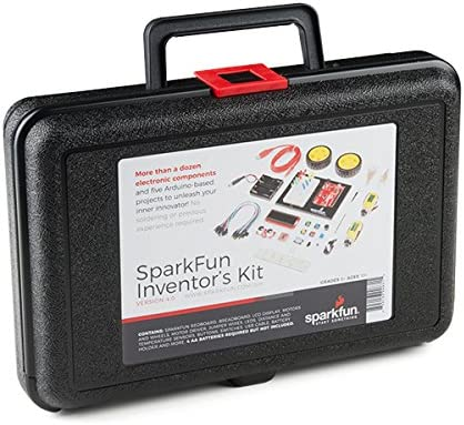 B077BS2CTJ SparkFun Inventor\'s Kit - v4.0 51A0ftlWuKL.