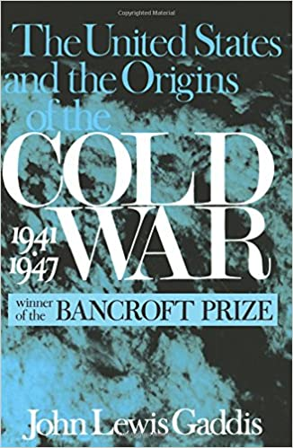 john lewis gaddis thesis cold war The cold war by john lewis gaddis paper details: this is the book title the cold war by john lewis gaddis book is available at the msjc bookstore or online at amazon .
