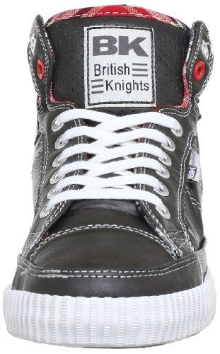 British Knights ATOLL CALI B31-3713CA - Zapatillas de deporte para hombre Gris (Grau (dk. grey/red 11))