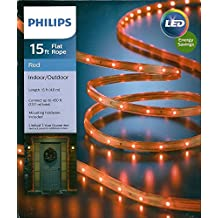 Philips 15' Red LED Rope Light Indoor/Outdoor