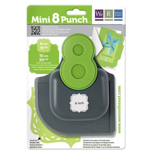 We R Memory Keepers Mini Paper Punch, Vine