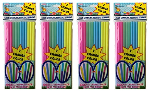Cool Change (4pk) Easter Straws (Cool Easter Gifts)