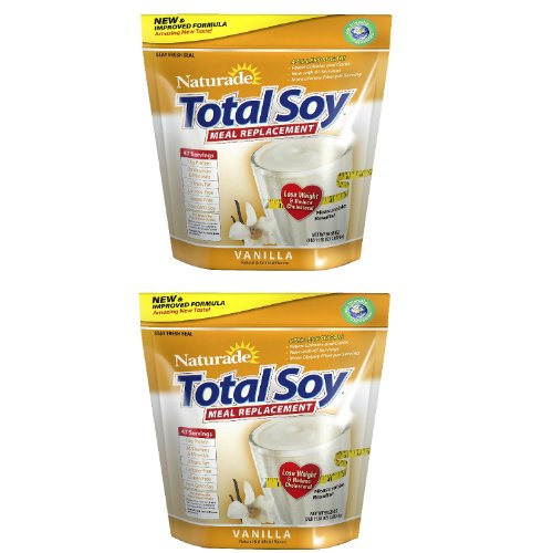 SCS Naturade Total Soy Vanilla NEW Formula - 3 lbs. x2 by Naturade