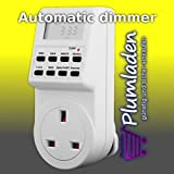 Automatic 60 min dimmer time switch