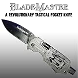 Blade Master Multi Use Tactical Pocket Knife (Black)