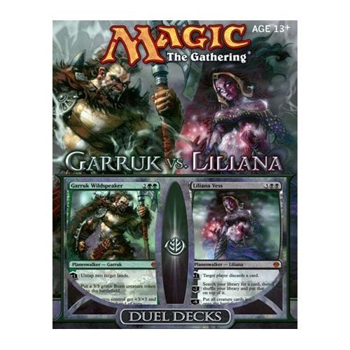 Magic The Gathering Garruk vs Liliana Duel Deck (Best Duels Of The Planeswalkers)