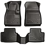 2012-2016 Chevy Sonic- Husky Liners Weatherbeater Series (Full Set Includes 1st and Second Row Footwell Coverage) - Black