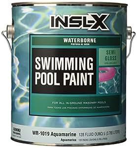 Insl x wr1019 1g aquamarine pool paint home - Insl x swimming pool paint reviews ...
