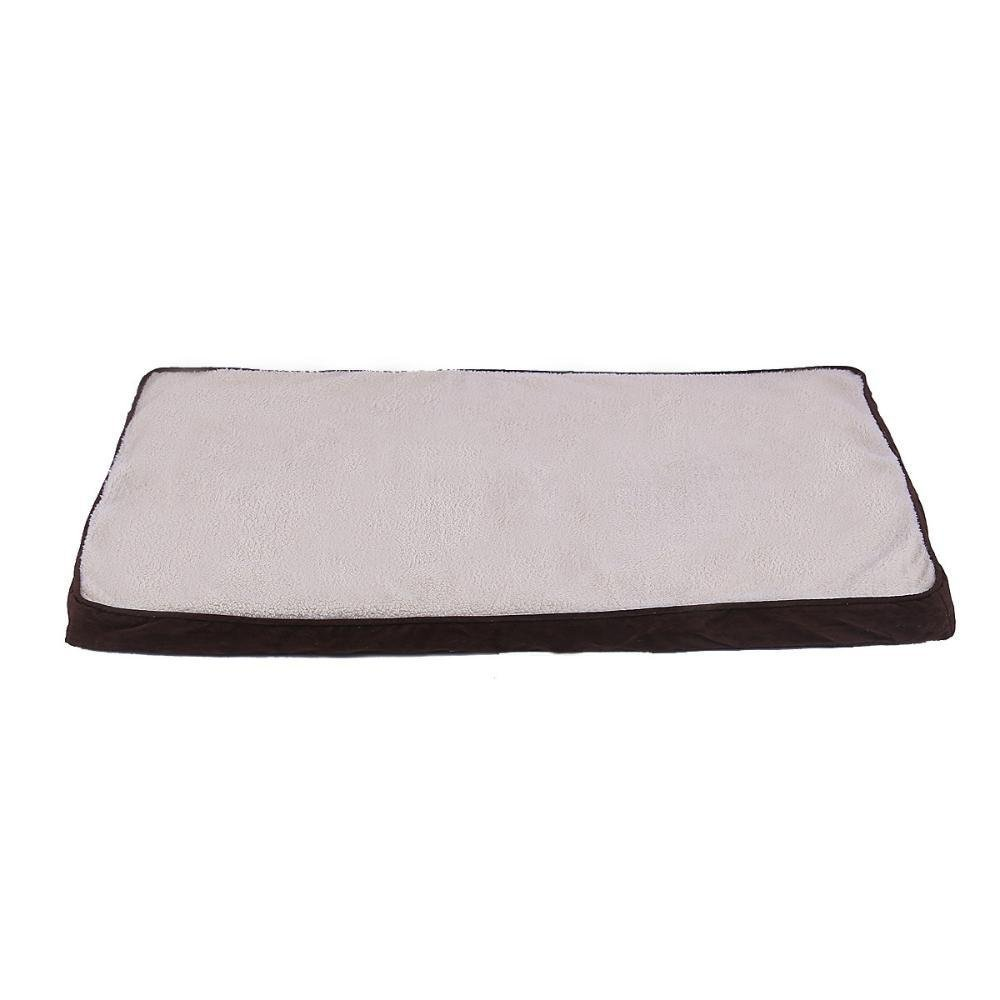 Lozse Pet Beds Pet Mat sponge + Cotton Coffee for Dogs and Cats Sleeping Cushion
