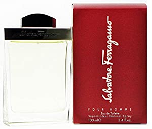Salvatore Ferragamo By Salvatore Ferragamo For Men. Eau De Toilette Spray 3.4 Ounces by Salvatore Ferragamo