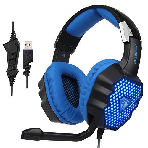 SADES A70 Headphones Microphone Reduction