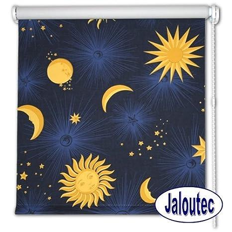 Rollo Verdunkelung , Sonne Mond Sterne , in 5 Grössen ...