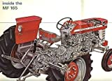 Massey Ferguson Industries MF 165 Tractor Sales Brochure 1964 Canada