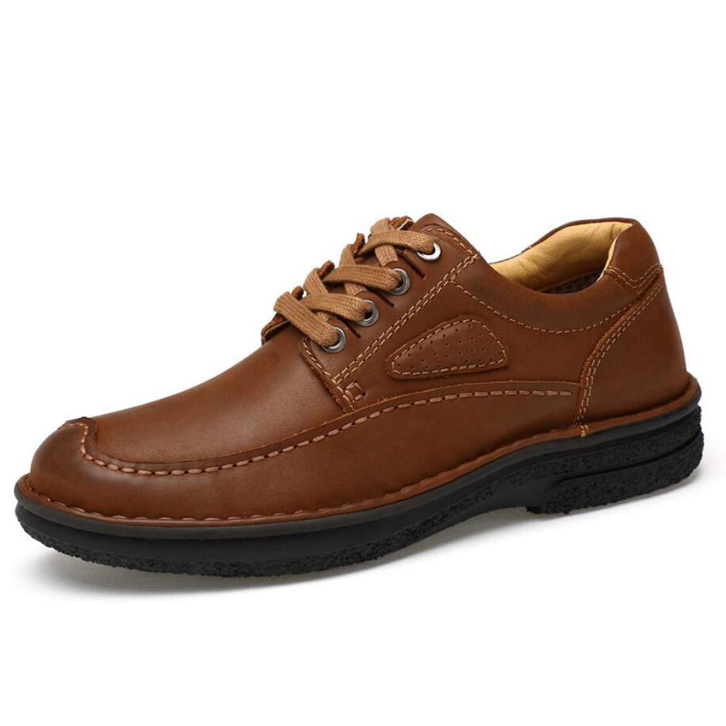 Zxcvb Geschäft-Schuhe Herren Freizeitschuhe Handgenähte Schnürschuhe Große Einzelschuhe 38-45