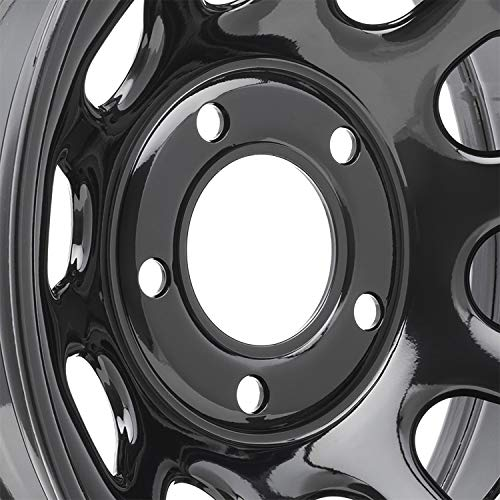 (Pro Comp Steel Wheels Series 51 Wheel with Gloss Black Finish (15x8