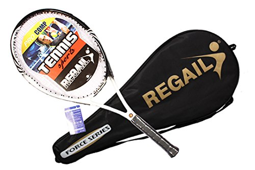 Tennis Rackets Training Competitive Tennis Racket Carbon Aluminum Alloy Tennis Racket Racquets Equipped With Bag by Tennisen (Image #6)