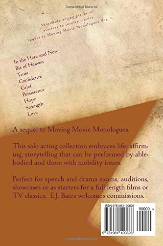 Buy Moving Movie Monologues 2017: Short solo acting pieces