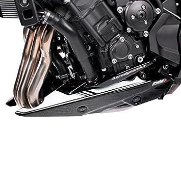 Motorbike Motorcycle Belly pan front spoiler Yamaha MT-07 14-19 black matt