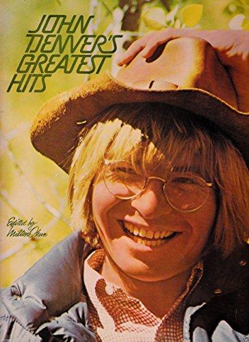 Vintage 1977 JOHN DENVER'S GREATEST HITS Edited by Wilton Okun SC Book