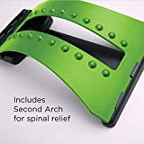 Back Stretcher for Lower Back Pain by Ultimate Arch - Spinal Traction Device for Back Pain Relief, Massage, Spine Decompression and Alignment