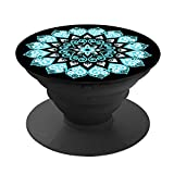 TechDutch POP Phone Expanding stand holder and Grip for Smartphones and Tablets- Peace Mandala Sky