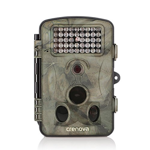 Crenova HD 12MP Infrared Trail Hunting Camera Surveillance IR LED Night Vision (RD1000)