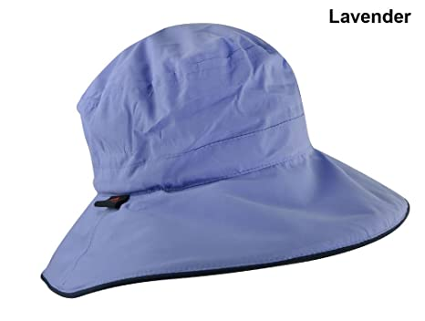 2854e8fa287 Amazon.com   The Weather Company Golf- Waterproof Hat Lavendar ...