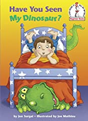 How do you find a missing dinosaur who's large and green and likes to roar? When a little boy's dinosaur decides to play hide-and-seek, he is surprisingly difficult to track down. Veteran illustrator Joe Mathieu's dinomite illustrations and J...