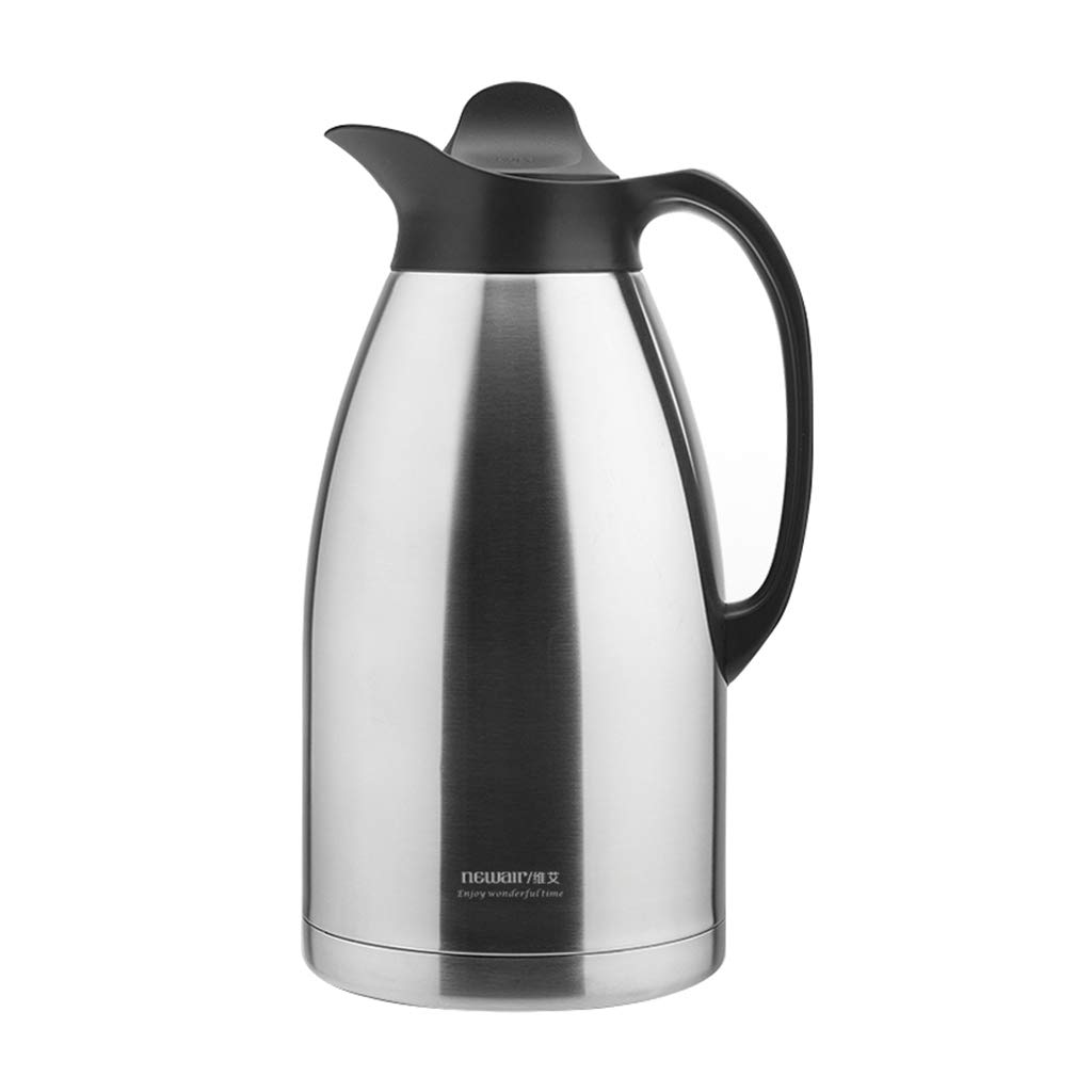 Zcxbhd 3 Litre Stainless Steel Coffee Jug/Double Walled Vacuum Tea Carafe/Retention/Thermal Insulated Airpot