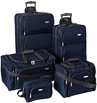 Samsonite 5-Piece Nested Travel Luggage Set
