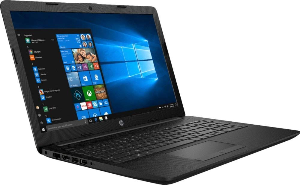 "2018 HP_Newest High Performance 15.6"" Laptop AMD A6-Series Processor, 4GB Memory, AMD Radeon R4 Graphics, 1TB Hard Drive,DVD-RW, Bluetooth, Windows 10_Jet Black 1"