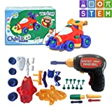 Take a Part Car Assemble Toy with Electric Drill & Tools. STEM Education Racing Car for Kids Educational Toys