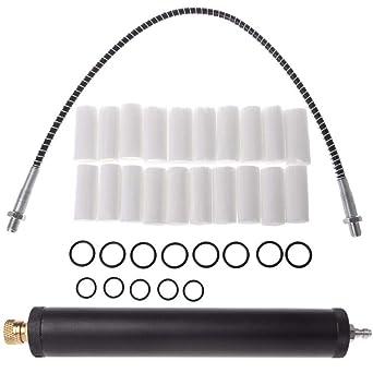 Amazon.com: Ochoos - Filtro de aire de aleación de aluminio ...