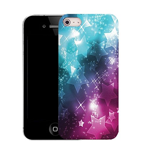 Mobile Case Mate iPhone 5c clip on Silicone Coque couverture case cover Pare-chocs + STYLET - cosmos pattern (SILICON)